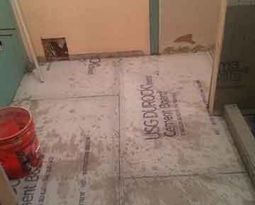 Install Bathroom Floor Tile