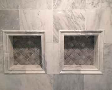 Ceramic Tile Bathroom Shower Design