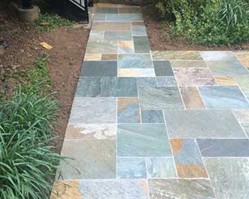 outdoor patio porcelain tile