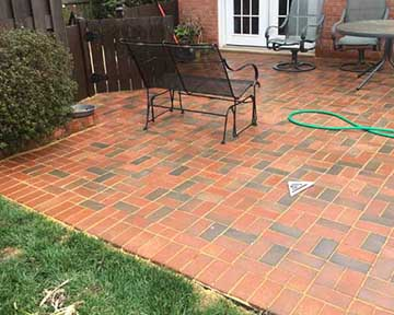 Patio Design with Pavers
